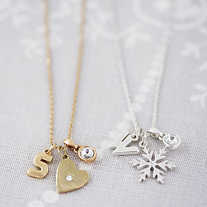 Design Your Own Chunky Letter Necklace - necklaces & pendants