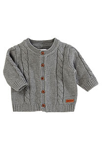 Pepitto Newborn Cardigan