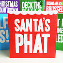 pack of bright christmas cards