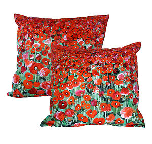 Poppy Fields Cushion Cover
