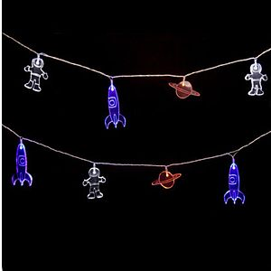 Spaceman LED Light Chain - parties