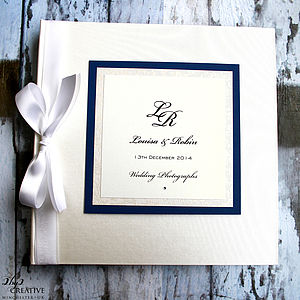 Personalised Photo Album - personalised wedding gifts