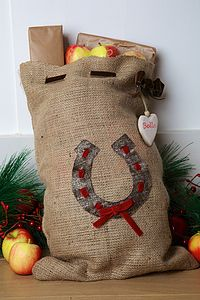 Personalised Mini Santa Sack For Your Horse Or Pony