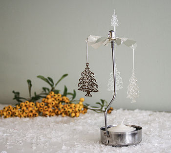 Rotary Tea Light Spinning 'Tree'