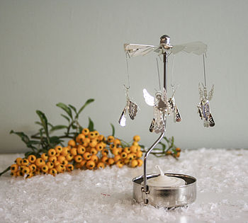 Rotary Tea Light Spinning 'Angel'
