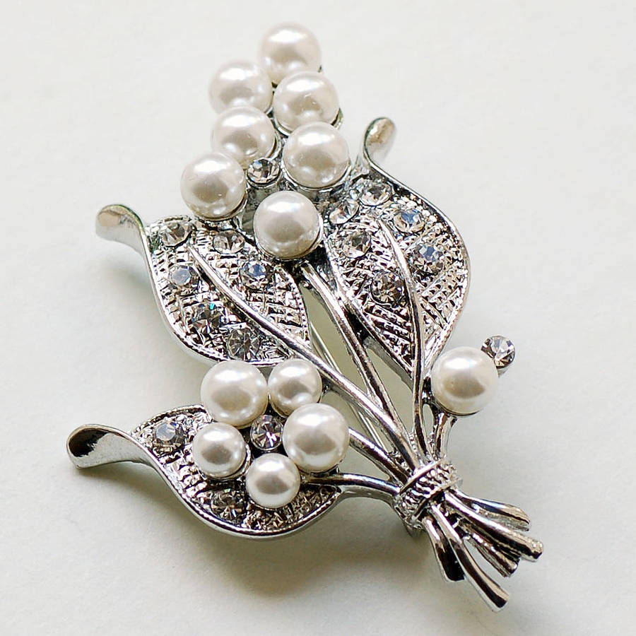 bouquet brooch by highland angel