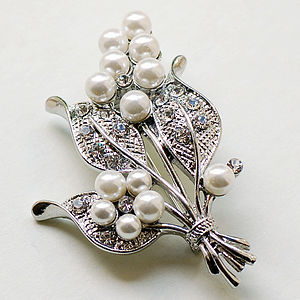 Bouquet Brooch - women's jewellery