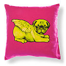 Biddy Pug Cushion Cover Square