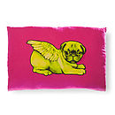 Biddy Pug Cushion Cover Rectangular