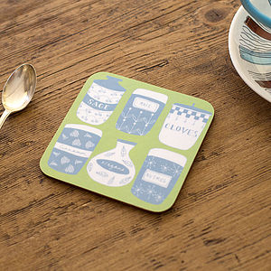 Spice Jars Coaster