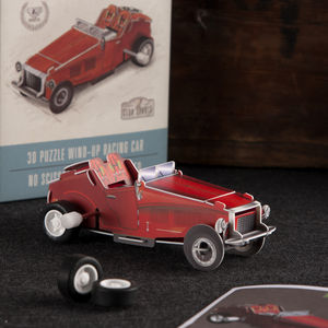 Make Your Own Wind Up Car - christmas