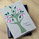 Personalised Family Tree 2016 Diary