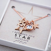 Design Your Own Star Necklace - anniversary gifts