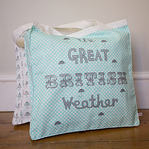 The Great British Weather Shopper Bag