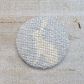 Sky Blue Hare Compact Mirror