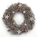 Star And Berry Wreath