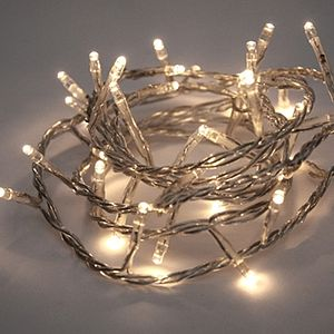 Battery Operated LED Fairy Lights - christmas lighting