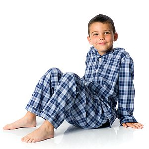 Boys Brushed Cotton Pyjamas - nightwear