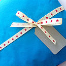 Gift wrap example (may vary)