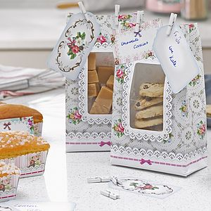 Frills And Frosting Cookie Gift Bags - ribbon & wrap