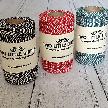 Coloured Bakers Twine