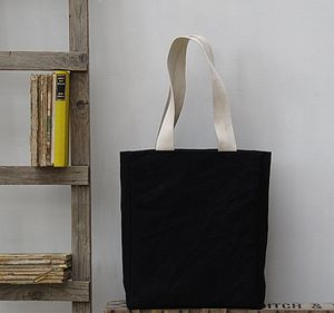 Mini Tote Bag, Black - bags, purses & wallets
