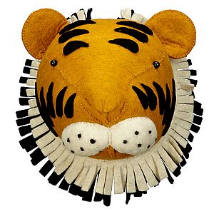 Jungle Animal Decorative Head - children's pictures & paintings