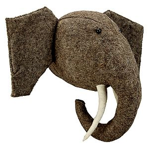 Felt Animal Heads - children's decorative accessories