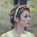 Beaded Headband 'Naimh'
