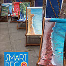 Art Print Deckchairs By Jacqueline Hammond for Smart Deco Style