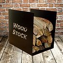'Woodstock' Log Storage Rack
