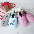 Initial Christening Shoes