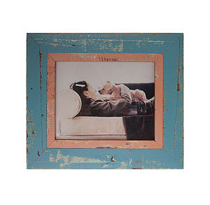 Reclaimed Wooden Distressed Frame
