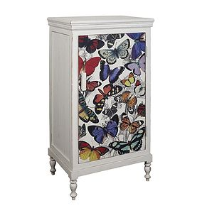 Tall Butterfly Cabinet