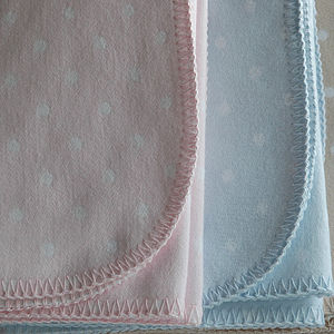 Hartford Spot Organic Cotton Baby Blanket - blankets, comforters & throws