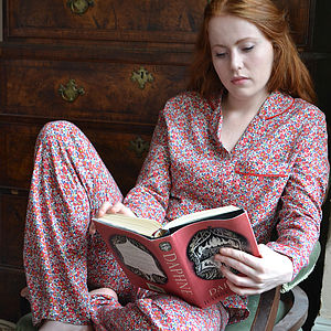 Brushed Cotton Liberty Print Pyjamas