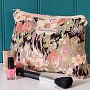 Make Up Bag Vintage Liberty Floral
