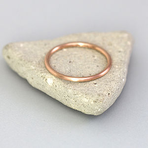 Slim Rose Gold Ring - women's jewellery
