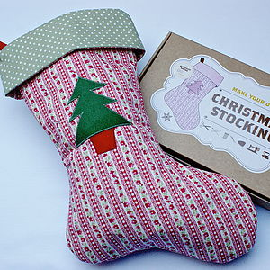Make Your Own Christmas Stocking Kit - stockings & sacks