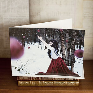 'Fallen' Greetings Card