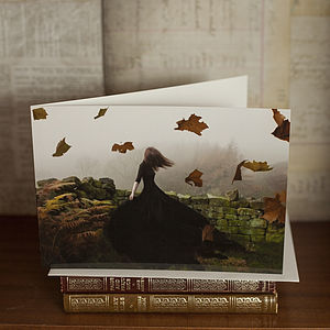 'Like Ghosts' Greetings Card