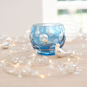 Dots Crystal Votive - tableware