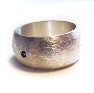 Large Personalised Silver Ring For Men - rings