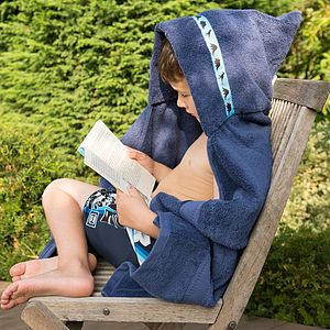Boy's Hooded Swimming Towel - baby care