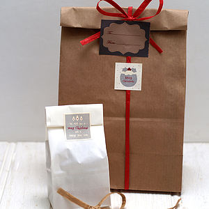 Set Of 20 Block Bottom Bags - cards & wrap