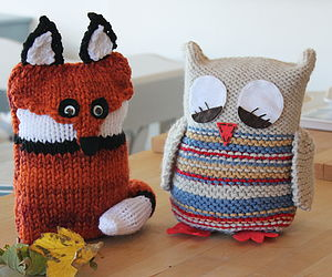 Friendly Fox Knitting Kit - leisure