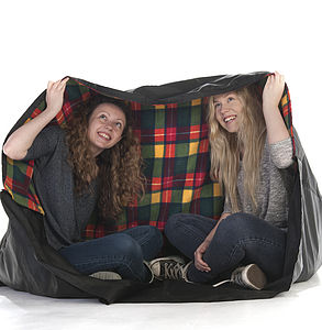 Plaid Waterproof Picnic Blanket