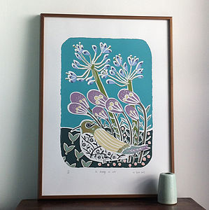 The Beauty Of Life Screenprint. Not Many Left