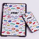 Personalised Comic Case For I Phone/I Pad