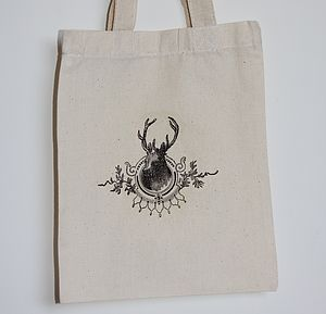 Stag Head Bag - cards & wrap